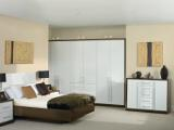 Wenge gloss and White gloss bedroom